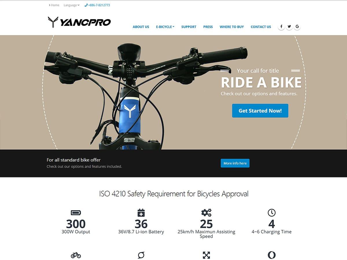 RWD網頁設計-暘展科技工業有限公司
